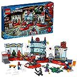 LEGO76175MarvelAngriffaufSpider-MansVersteckBausetmitGreenGoblinundVenomFiguren,SuperheldenSpielzeug