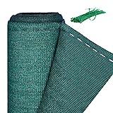 Relaxdays Zaunblende, Sichtschutz für Zaun & Balkongeländer, HDPE Gewebe, UV-stabilisiert, wetterfest, 1,2 x 25 m, grün