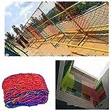 DSDD Sicheres Netz Balkonschutznetz Fallschutznetz, Kindergarten-Dekorationsnetz, Zaunschutznetz, Fensterschutznetz, Kinderbalkon-Sicherheitsnetz, Nylonseil-Innendekorationsnetz Durchmesser 6 mm
