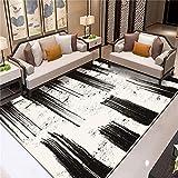 ZAZN Teppich Im Nordischen Stil Wohnzimmer Sofa Couchtisch Decke Schlafzimmer Voller Ladenraum Haushalts Fußmatten rutschfest Verschleißfest Waschbar