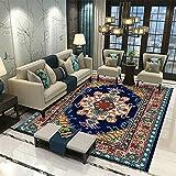 MMHJS Home Luxus Nordic Style Weiche Haut-Freundlich Rechteckiger Großer Teppich Wohnzimmer Teppich Schlafzimmer Nachtteppich 50x160