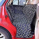 Hunde Autositzbezug, Oxford Auto SUV Sitzbezug Wasserdicht und waschbar Haustier Reise Hängematte Rücksitz Schutzmatte für Hunde