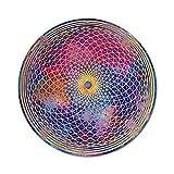 Sonnenfänger' Kronen Chakra' Nr. 17. Ø 15 cm Symbol Lotus Universum · Meditation Aufhänger · Fensterbild bruchsicheres Acrylglas · Geschenk Geburtstag Dankeschön · Dekoration Fenster
