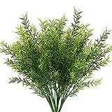 NAHUAA 4Pcs Künstliche Pflanze Antirrhinum Deko Pflanze Zimmerpflanze für Balkon Flur Zimmer Büro Party Dekoration Garten Grün