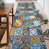 Teppich-Läufer auf Maß Bonita | Moderner Wohnteppich für Flur, Küche, Schlafzimmer | Meterware, viele Größen | rutschfest, robust & pflegeleicht (80 x 300 cm)