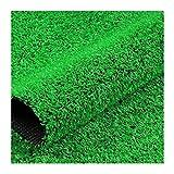 YNFNGXU Künstliches Grasrasen, Hohe Dichte Gefälschte Faux-Gras-Rasen, Natürlicher Und Realistisch Aussehender Garten-Haustierhund-Rasen, Für Gärten, Balkone, Rasenfläche(Size:10mm grass height-2mx4m)