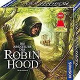 KOSMOS 680565 Die Abenteuer des Robin Hood, Nominiert zum Spiel des Jahres 2021, Kooperatives Abenteuer-Spiel für die ganze Familie, spannend mit offener Spielwelt und sich veränderndem Spielplan