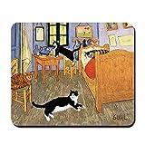 CafePress Vincent's Cats Mauspad, rutschfest, G