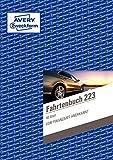 AVERY Zweckform 223 Fahrtenbuch für PKW im 5er-Pack (vom Finanzamt anerkannt, A5, 80 Seiten insgesamt 858 Fahrten, für Deutschland und Österreich zur Abgrenzung privater/geschäftlicher Fahrten)