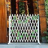 JHHL Expandierender Zaun, Gartenzaun Privatsphäre Zaunbildschirm, Holz Gitter Für Kletterpflanzen Im Freien, Gartenzaun Grenzgitterfelder Für Draußen (Size : 85x150cm)