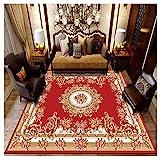 GUOCU Orientteppich Teppich Medaillon Muster Kurzflor Teppich Wohnzimmer Vintage Stil,Bunt16,180x280cm