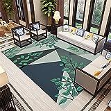 Kunsen Klassische Geometrie Moderne minimalistische Reduktion Geräusche Anti-Rutsch Weiche Wohnzimmer Teppich Schlafzimmer Teppich-Guthaben Teppich rund wohnzimmerteppich modern 5ft 3''X7ft160X230CM