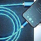 Xingying Leuchtendes LED Magnetisches 3-in-1-USB-Ladekabel Schnelllade-Datenkabel Kompatibel mit Allen Telefonen