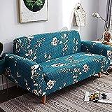 YUNZHONG Elastischer Sofabezug Universalbezug für Ecksofaüberwurf für Wohnzimmer Stretch Schonbezug L-Form Sofabezug 4-Sitzer
