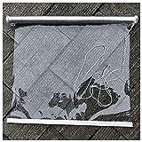 Rollos Terrasse Tür Fenster Rollläden - Durchsichtiger Kunststoff, Draussen Pergola Pavillon Winddicht Clear Roll Up Blind, Innen Abgeschnitten Bildschirm (Size : 85×100cm/33×39in)