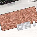 YMYGCC Gaming Mouse Mat 900x400x2mm Weißgold Marmor Keyboard Matte Desk Durable Desktop Mousepad Gummi Anti Slip Gaming Mauspad Computer Zubehör 58 (Color : DLS 038, Size : 600x300x2mm)