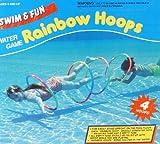 Rainbow Hoops - 4 große Tauchringe zum Durchtauchen 56cm