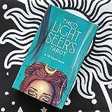 78 Blätter Oracle-Karten Solitaire, Anfänger Die Tarot der Light Seier, Universal altmodische Wildheit Future Game Card Sets, englische Version