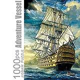 Puzzles 1000 Teile für Erwachsene Abenteuer Schiff Pädagogisch Spaß Spiel Intellektuell Zerkleinern Interessant Puzzle