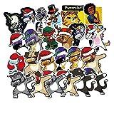 YMSD [29 Stück] Hip-Hop-Aufkleber mit Cartoon Persönlichkeit, PVC Coole Wasserdichte Graffiti Aufkleber, VSCO Mädchen Aufkleber, Niedliche Aufkleber für Kinder Geschenke