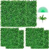 VEVOR Künstliche Pflanzenwand 6 Stk. 20 x 20 Zoll, Sichtschutz Hecke Künstlich Grün, Künstliche Buchsbaumplatte PE, Sichtschutz Kunstpflanzen 50 x 50 cm, Sichtschutzhecke Wanddekoration Pflanzenwand