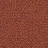 Teppichboden Auslegware   Schlinge gemustert   400 und 500 cm Breite   orange rot   Meterware, verschiedene Größen   Größe: 3 x 5m