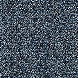 Schlingen-Teppichboden in der Farbe Blaugrau | weiche & strapazierfähige Auslegeware | zugeschnittener Bodenbelag | Meterware in der Größe 300 x 500 cm | gemütliche Tepp