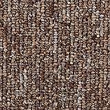 Teppichboden Auslegware   Büro Schlinge gemustert   400 und 500 cm Breite   braun beige   Meterware, verschiedene Größen   Größe: 2,5 x 5 m
