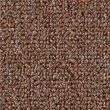 Teppichboden Auslegware   Schlinge gemustert   400 und 500 cm Breite   hell-braun   Meterware, verschiedene Größen   Größe: 4 x 5m
