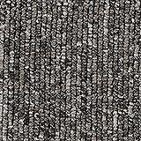 Teppichboden Auslegware   Büro Schlinge gemustert   400 und 500 cm Breite   hell-grau   Meterware, verschiedene Größen   Größe: 4,5 x 5 m